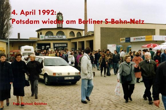 Potsdam wieder am Berliner S-Bahn-Netz