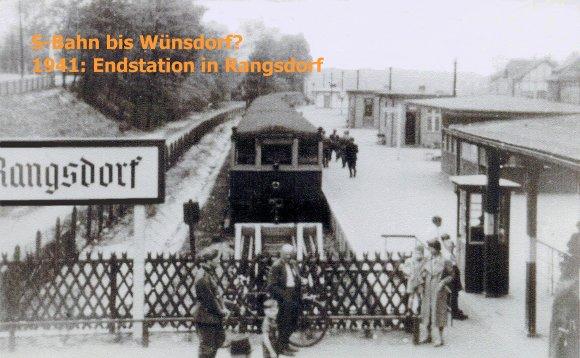 S-Bahn bis Wünsdorf?