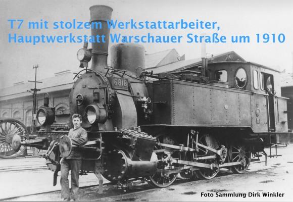 Berliner Eisenbahnwerkstätten in eineinhalb Jahrhunderten