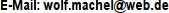 E-Mail Wolf-Dietger Machel