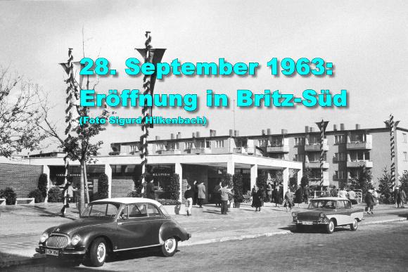 Eröffnung in Britz-Süd