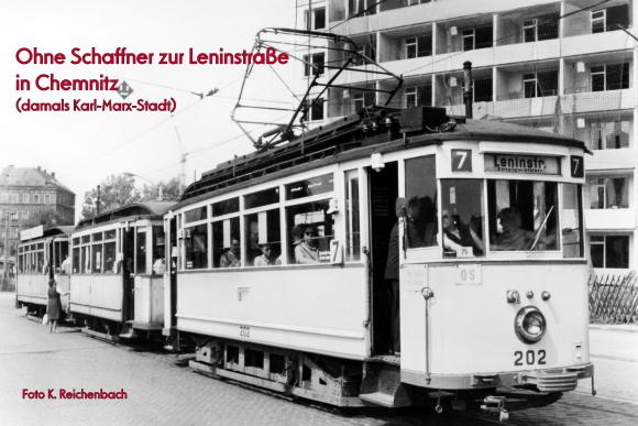 Ohne Schaffner zur Leninstraße
