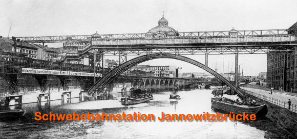 Schwebebahnstation Jannowitzbrücke