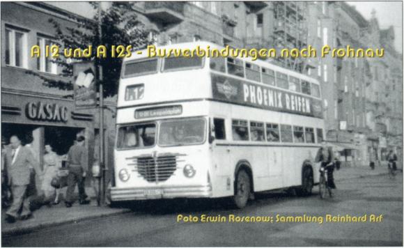 Mit dem Tourenwagen nach Tegel und Hermsdorf