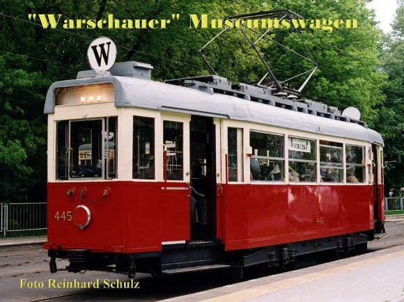 """Warschauer"" Museumswagen"