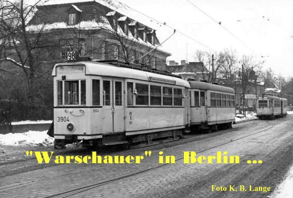 """Warschauer"" Wagen in Berlin …"
