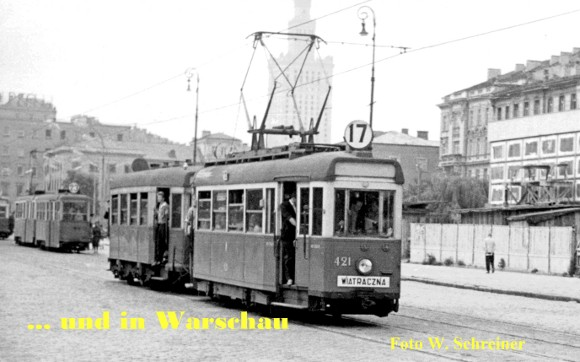 … und in Warschau