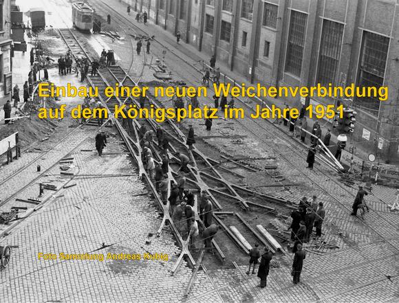 Straßenbahnknoten Königsplatz