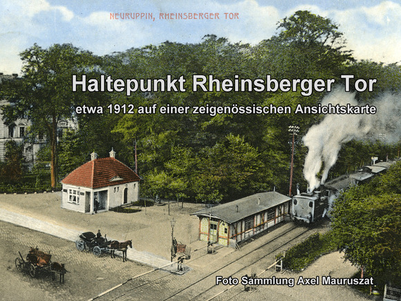 Neuruppin und seine Bahnhöfe