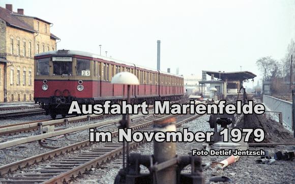 S-Bahn in Westberlin in den roten Zahlen