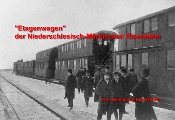 Doppelstockwagen in preußischer Zeit