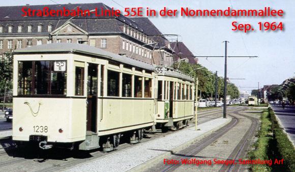 Mit der Straßenbahn nach Siemensstadt