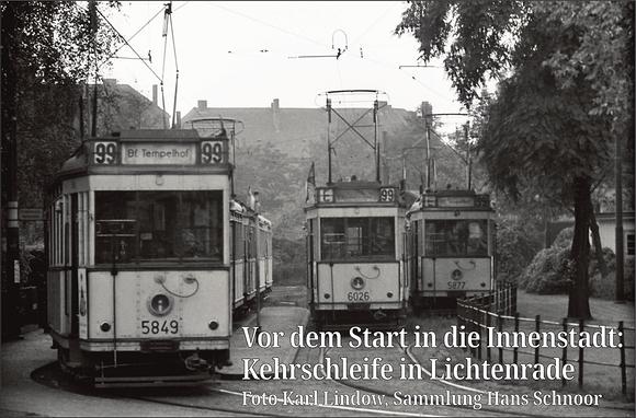 Straßenbahn in Tempelhof