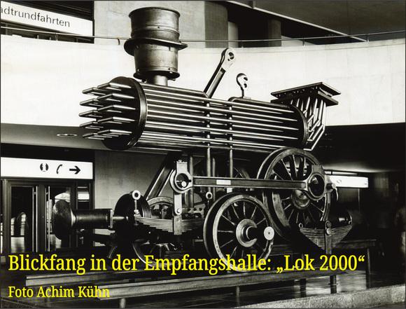 Die Lok 2000 am Borsigtor